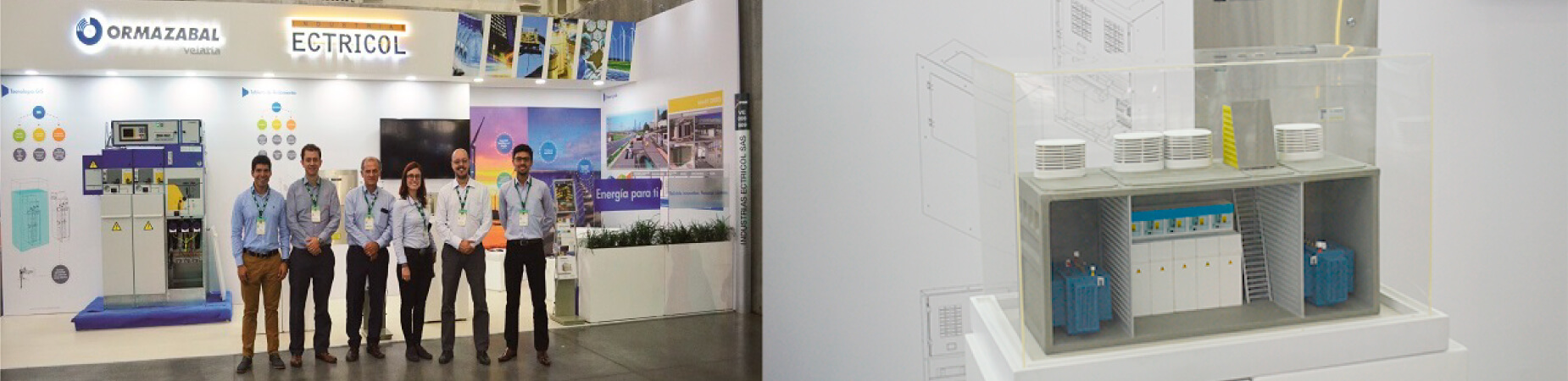Exitosa participación de Industrias Ectricol y Ormazabal en FISE 2017