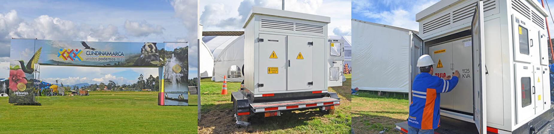 Suministro eléctrico a Expocundinamarca 2017