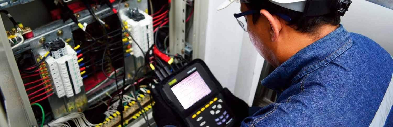 Estudios de calidad de potencia eléctrica