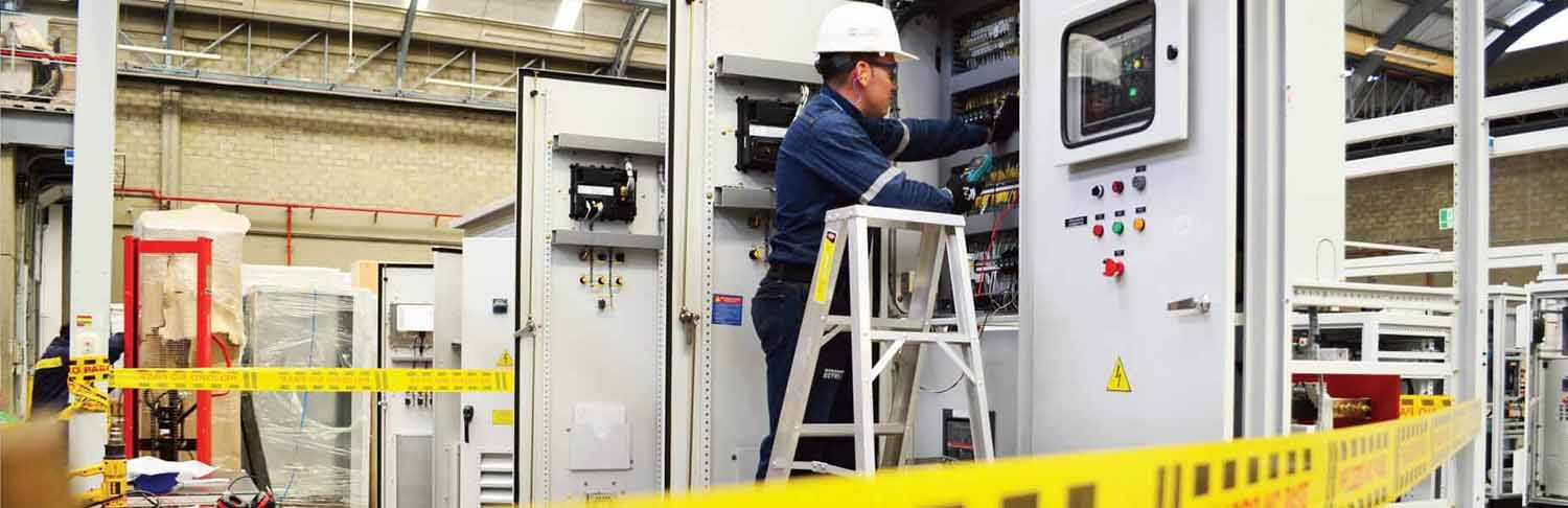 Preventive and corrective maintenance of electrical switchboards and substations.