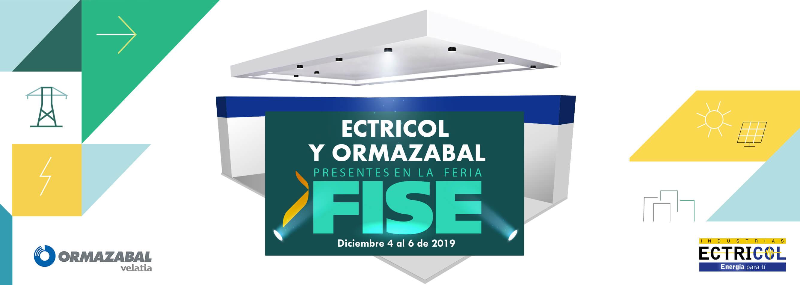 Ectricol y Ormazabal presente en FISE 2019