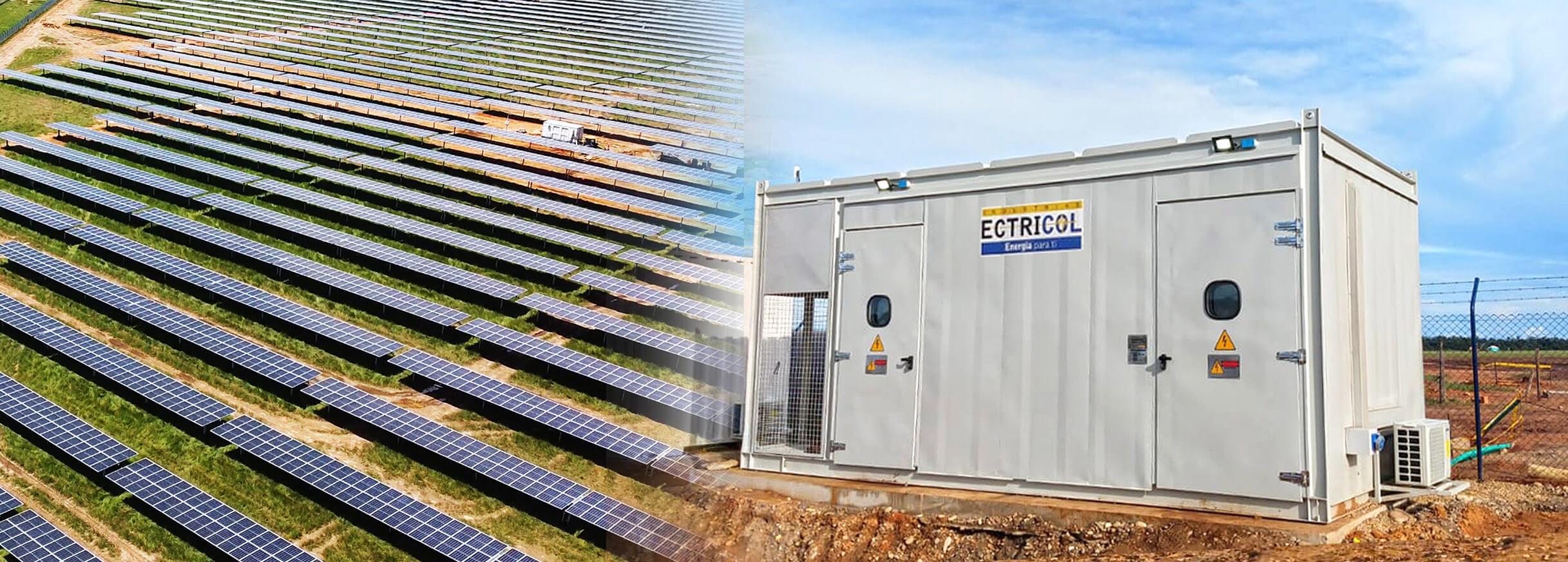 ¡Energización Exitosa! parque solar – Bosques Solares de los Llanos 1 – Puerto Gaitán