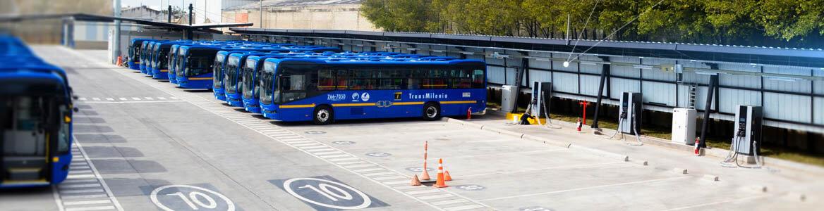 Nueva flota de buses Eléctricos 100% – Transmilenio Fontibón