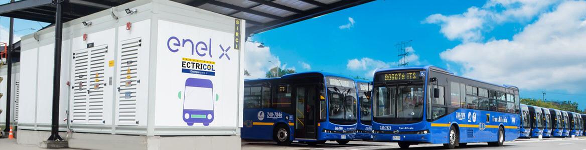 Movilidad sostenible, nueva flota de buses 100 % eléctricos de Transmilenio Suba